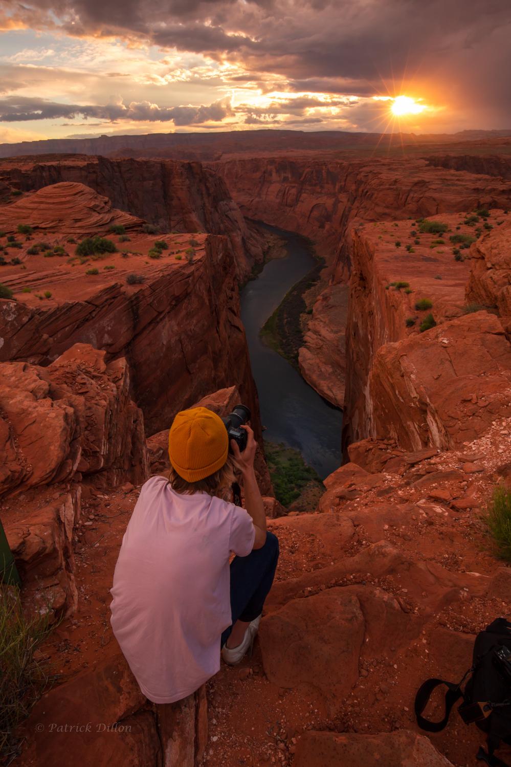 colorado river with son shooting shot-0560