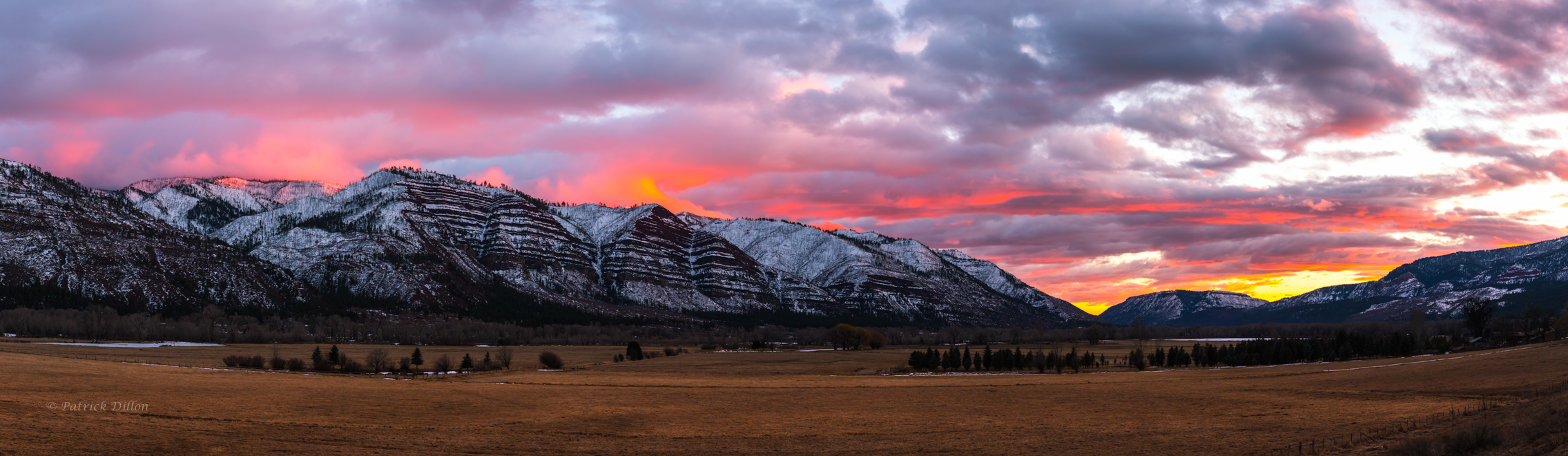 Animas Valley sunset