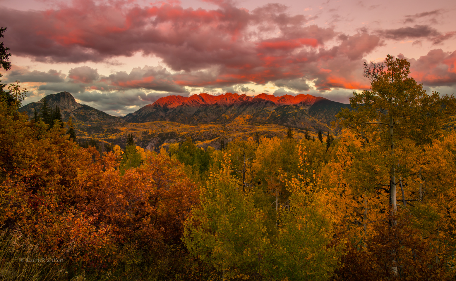 san-juan-mountains-fall-sunset Needle Mountains-far-5578