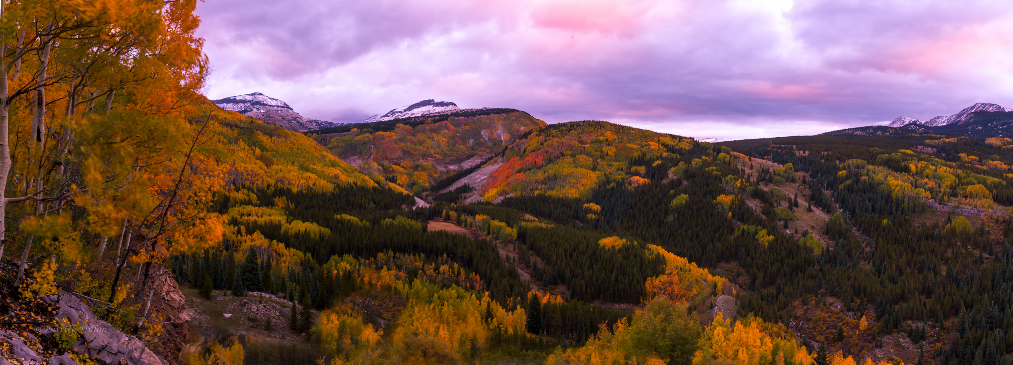 san juan mountains fall colors
